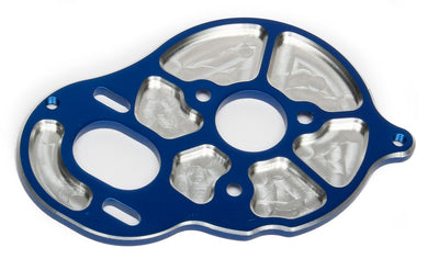 Team Associated 91603 Factory Team Front Motor Plate, Blue (3 Gear Transmission)