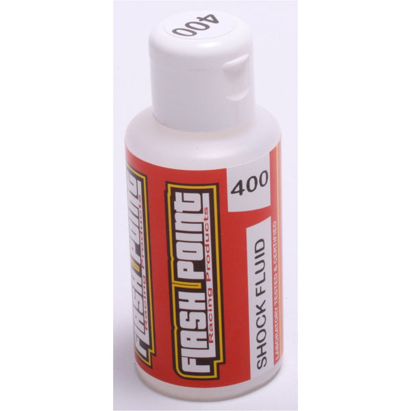 Flash Point Silicone Shock Oil (75ml) (400 cst) (Equiv 34 Wt)