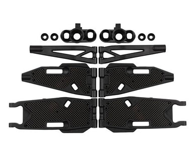 Mugen Seiki M1016 MBX8T/8TE Truggy Arm & Carbon Stiffener Refresh Kit