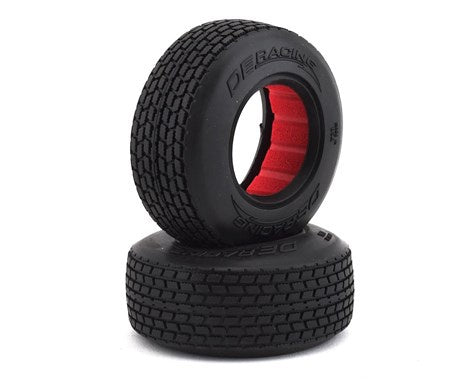 DE Racing DER-G6F-D40 Mini G6T Modified Street Stock Front Tires (2) (D40)