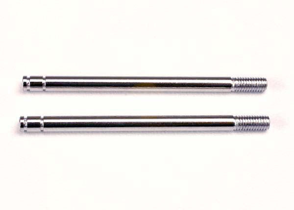 Traxxas 1664 Shock shafts, steel, chrome finish (long) (2) 0.02