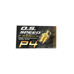 OS Speed P4 Speed P4 Gold Super Hot Glow Plug
