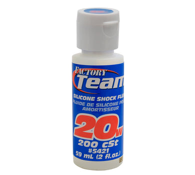 Team Associated 5421 Silicone Shock Oil (20wt) (2oz)