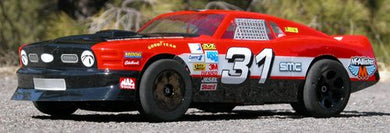 Mcalister 136 '70 BOSS MUSTANG STREET STOCK BODY