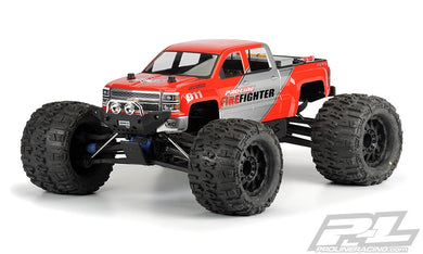 Pro-Line 3430-00 2014 Chevy Silverado Monster Truck Body (Clear)