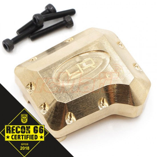 Yeah Racing  TRX4-041 Brass Diff Cover 65g For Traxxas TRX-4 TRX-6 'G6 Certified'