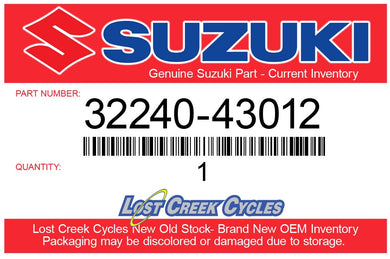 Suzuki 32240-43012 POINT ASSY, CONTACT (Superseeded: 32240-28010)