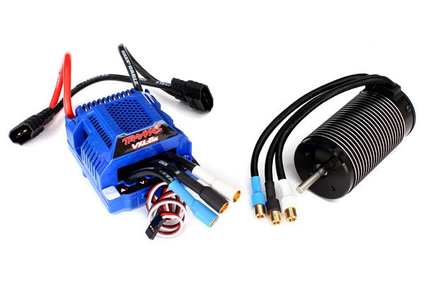 Traxxas 3480 - Velineon® VXL-6s Brushless Power System, waterproof (includes VXL-6s ESC and 2200Kv, 75mm motor)