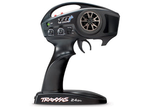 Traxxas 6509R - TQi 2.4 GHz High Output radio system, 2-channel, TSM (2-ch transmitter, 5-ch micro receiver)