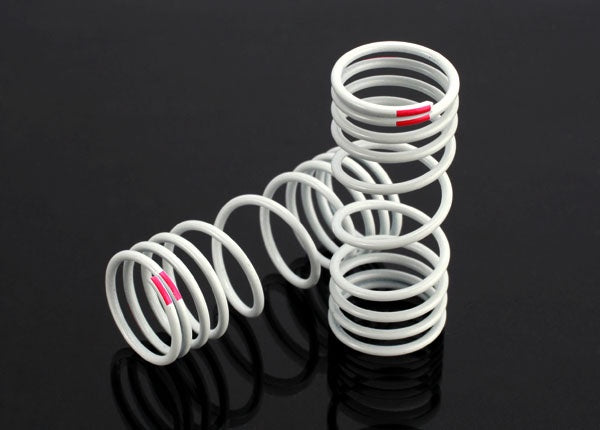 Traxxas 6863 - Springs, front (progressive, +10% rate, pink) (2)