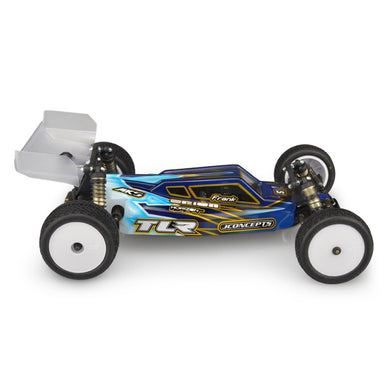 Jconcepts 0318L S2-TLR 22 4.0 Clear Body w/ Aerowing, Lightweight