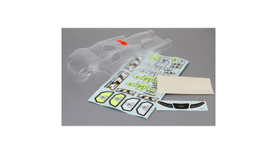 Team Losi Racing TLR240005 Clear Body 8T 3.0
