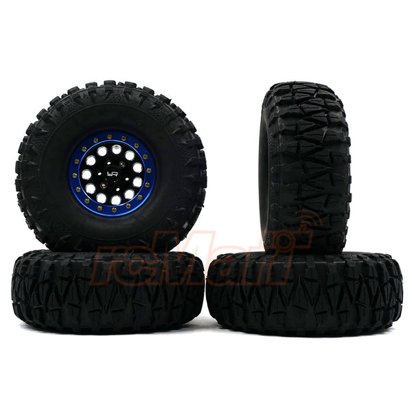 Yeah Racing's WL-0138BU 1.9 Inch Heavy Duty Beadlock Wheel for your scale crawlers!