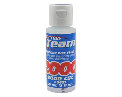 Team Associated  5451 Silicone Differential Fluid (2,000cst) (2oz)
