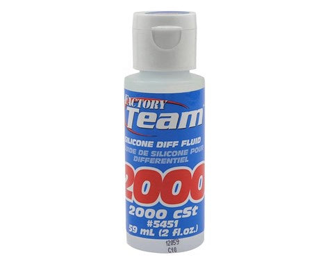 Team Associated ASC5451 Silicone Diff Fluid 2000cst
