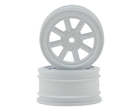 Protoform 2766-04 Vintage Racing Front Wheels (26mm) (2) (White)