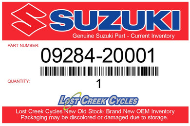 Suzuki 09284-20001 OIL SEAL (20X26X4.5)
