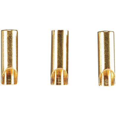 GPMM3113 3.5mm Gold Plated Bullet Connectors - Female (3)