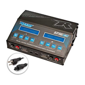 Reedy 1216-C2 Dual AC/DC Competition LiPo/NiMH Battery Charger (6S/12A/120Wx2)