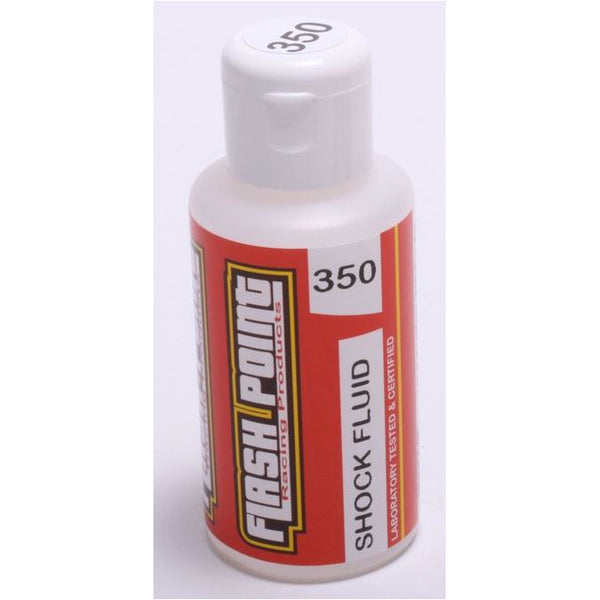 Flash Point Silicone Shock Oil (75ml) (350cst) (Equiv 30 wt)