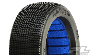 Pro-Line Fugitive Lite 1/8 Buggy Tires w/Closed Cell Inserts (2) (M3)