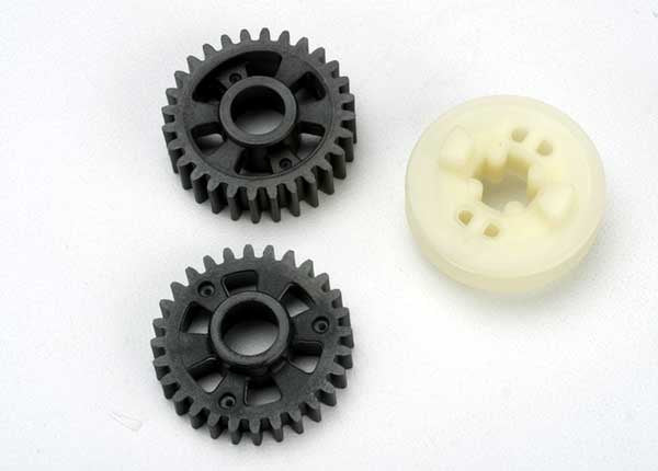 Traxxas 5395 Output gears, forward & reverse/ drive dog carrier 0.035