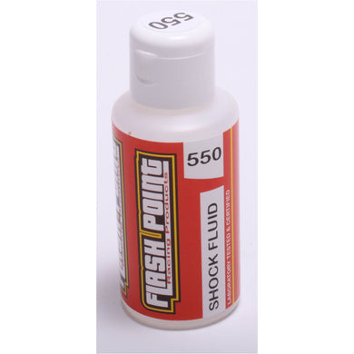 Flash Point FP0550 Silicone Shock Oil (75ml) (550cst)