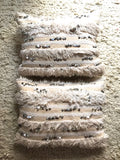 Handira wedding blanket pillow