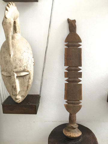 Tuareg carved wooden stick