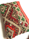 Kilim boho clutch purse handbag