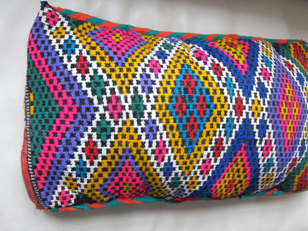Vintage Moroccan berber Zemmour pillow Purple **SOLD OUT**