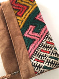 Kilim boho clutch purse wrislet handbag