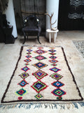 Vintage Moroccan rug - Boucherouite A star is born **SOLD OUT**
