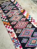 Vintage Moroccan rug Boucherouite Infinite path **SOLD OUT**