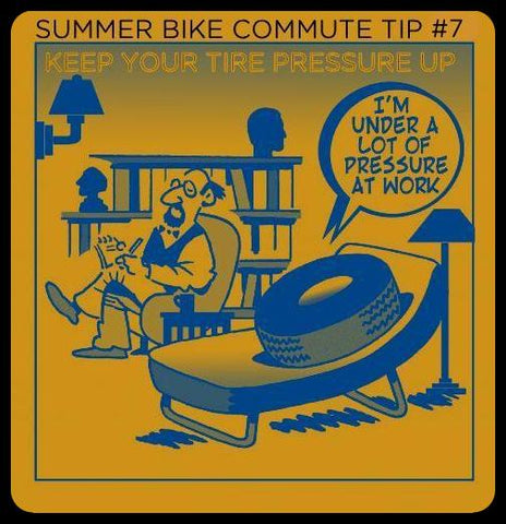 Bike commuting tips