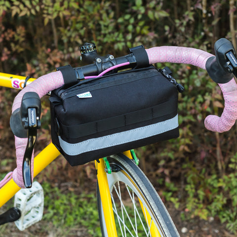 Bar Crawler Handlebar Bag by Ellum Bag Works
