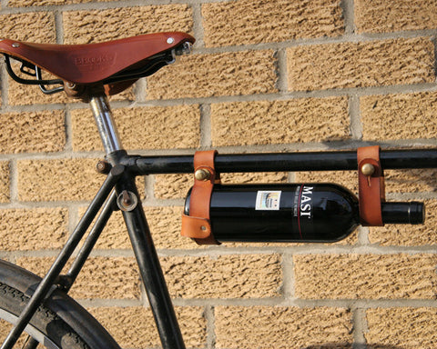 Oops Mark Bicycle Wine Rack Brown