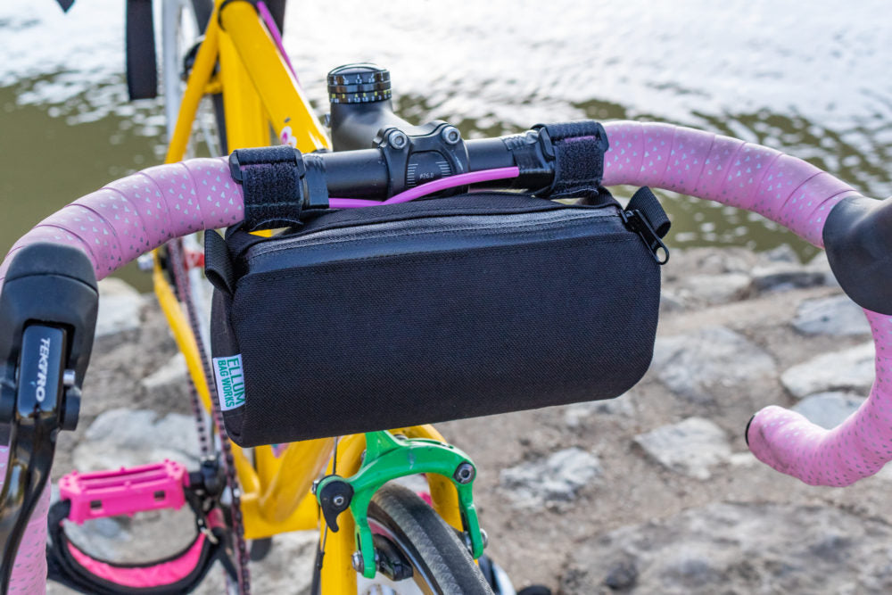 Happy Hour Handlebar Bag by Ellum Bag Works