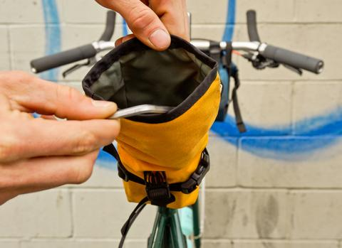 The Drafter Saddle Bag by Road Runner Bags