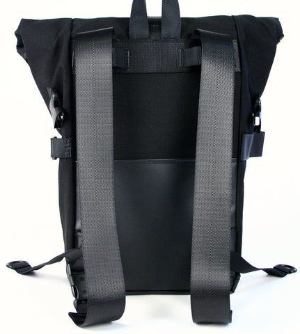 Vaya Bags Black Pannier-Backpack Hybrid