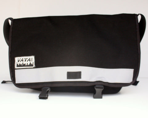 Black Bike Messenger Bag - Similar to Timbuk2