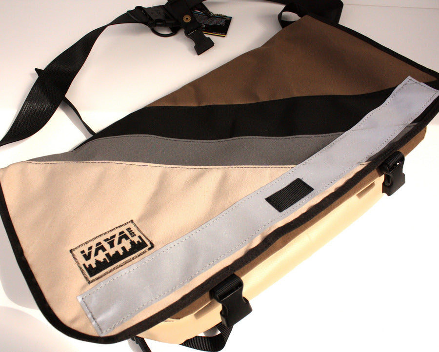 Vaya Bags Standard Brown Messenger Bag