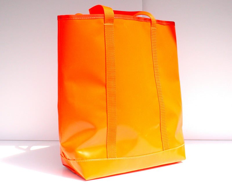 Orange Summer Tote Bag