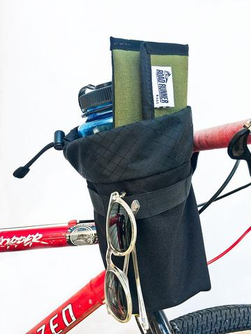 Auto-Pilot Black Handlebar Bag by Road Runner Bags
