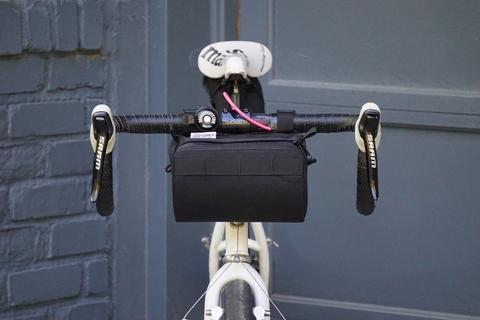 Burrito Supreme Handlebar Bag  (Black) - Road Runner Bags