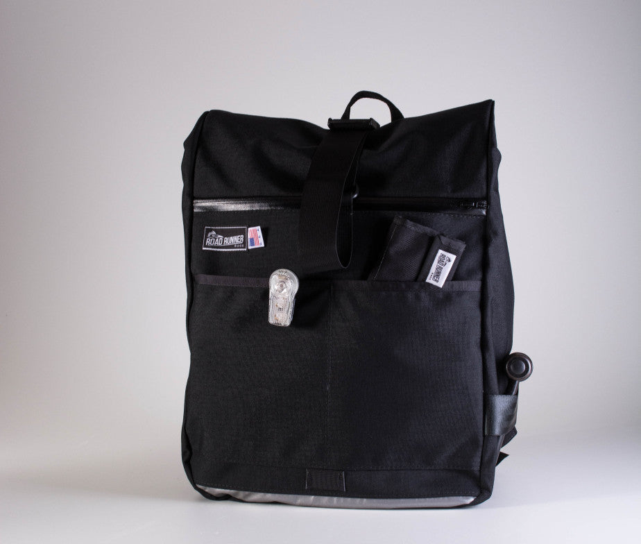 Roll Top Backpack by roadrunner bags