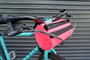 Image of Burrito Supreme Handlebar Bag (Highlighter Pink) - Road Runner Bags