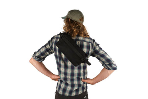 "Road Runner Bags ""Lil Guy"" Mini Pack & Hip Bag (Black)"