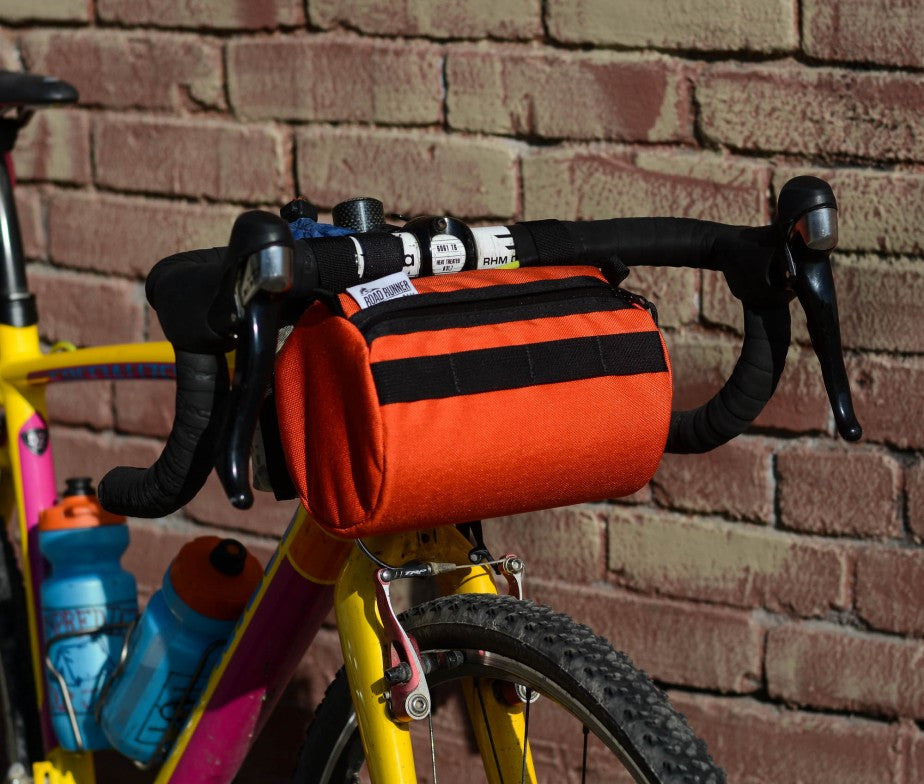 Burrito Supreme Handlebar Bag (Highlighter Pink) - Road Runner Bags
