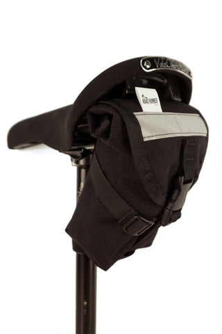 The Drafter Saddle Bag (Black) by Road Runner Bags
